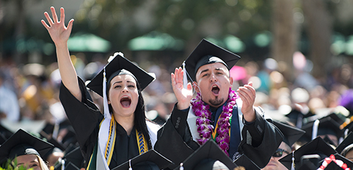 Cal Poly Pomona graduates